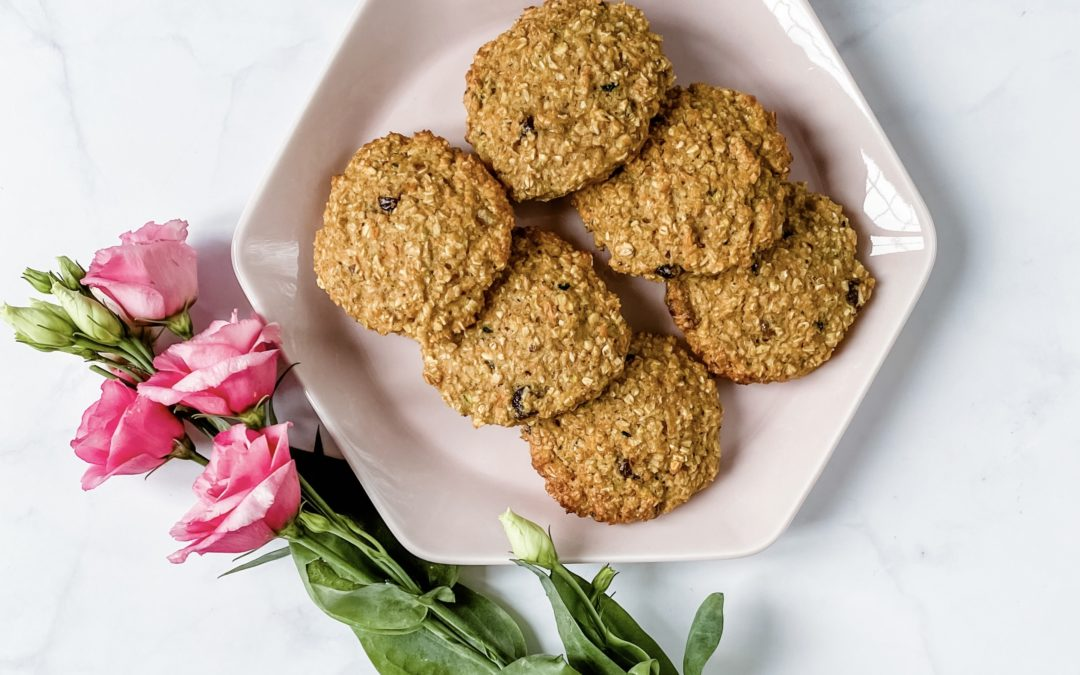 CARROT AND COURGETTE COOKIES