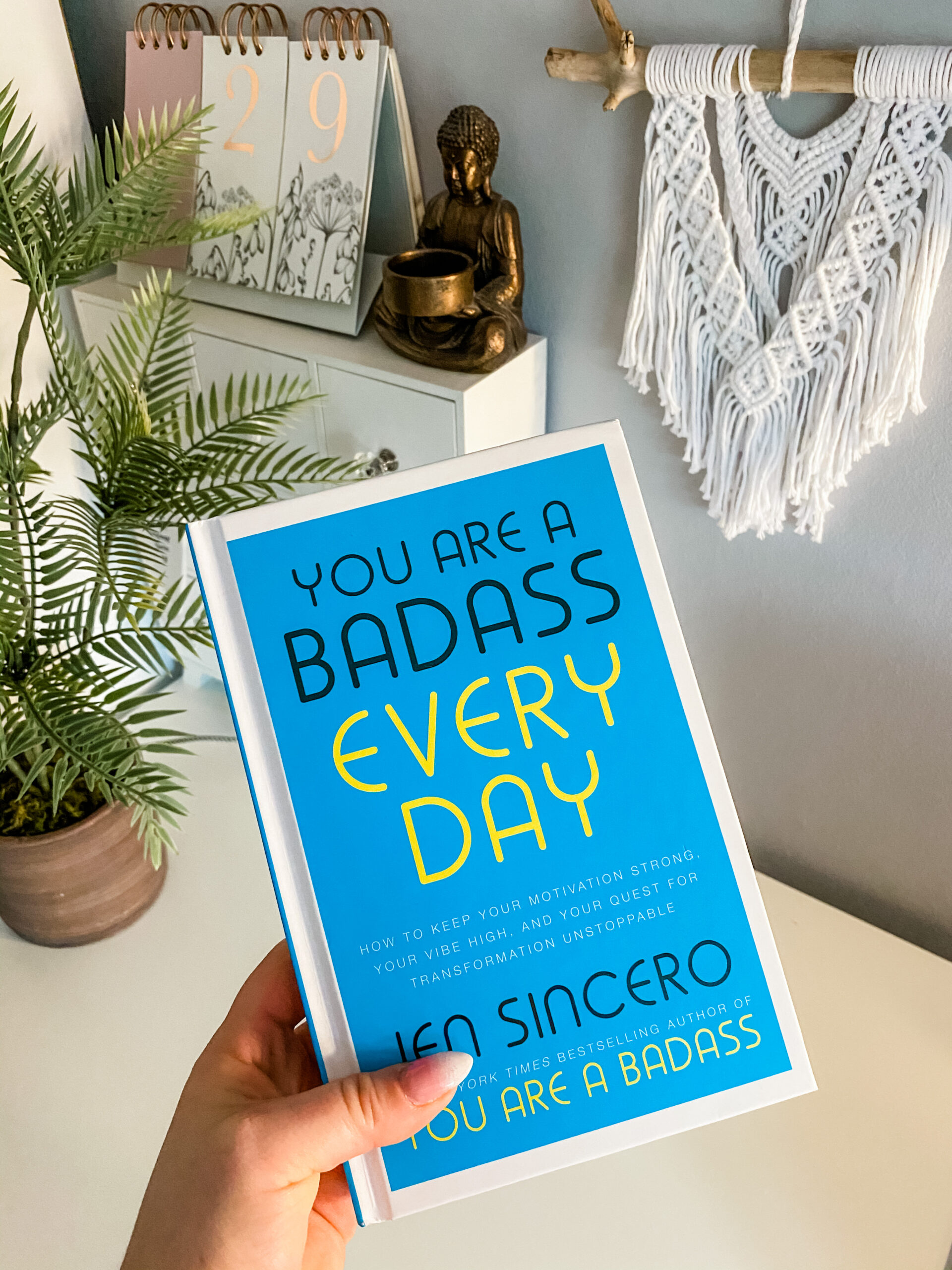 you are a bad ass everyday book