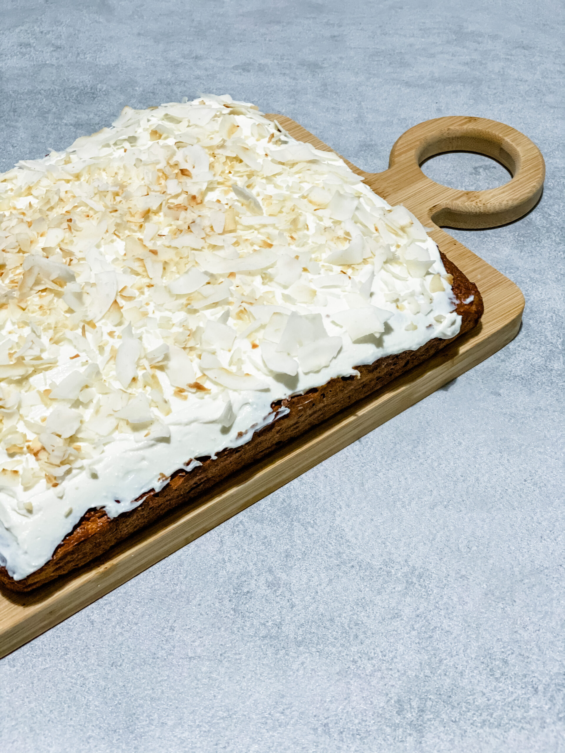 carrot cake with ricotta frosting